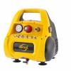 Компрессор воздушный DENZEL PC 1/6-180  безмасляный, 1,1 кВт, 6 л, 180 л/мин. 58057