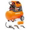 Компрессор поршневой DAEWOO DAC 50 D 50 л, 290 л/мин., прямой привод, комплект из 4-х аксессуаров