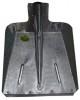 Лопата снеговая оцинкованная 380*380мм, с накладкой, с черенком ЛС-3 30700029