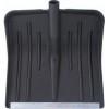 Лопата для уборки снега пластмассовая FIT 420*420мм, без черенка, большая 68100