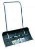 Скрепер для уборки снега пластик ЦИ Бедуин 820*400 мм, с алюминиевой окантовкой, на колесиках 0365