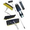Скребок для уборки снега с крыши 400*150*6300 мм пластик. насадка СТ-5 1203109