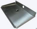Лопата снеговая алюминий толщ. 1,5 мм 500*375 мм, 3-х-бортная, с планкой, без черенка АВ+