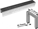 Скобы для степлера FIT 4мм 1000шт. 31404