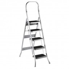 Стремянка металлическая МИ Comfort 5 ступ., широкая ступень 24см