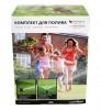 Комплект системы полива газона Умный дождик 200 на 2 сотки CR-002