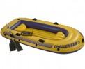 Лодка INTEX Challenger-3 SET 295*137*43см, весла, насос руч. 68370