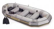 Лодка INTEX Mariner 3 297*127*46см, весла алюм., насос руч. 68373 (17-З)