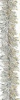 Мишура Праздничная М1001 серебро 2м(25)
