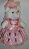 Медвежонок девочка 15см, розовый Y2P011