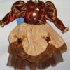 Платье 18см, терракотовый Y2T009