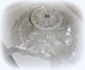 Шляпка 15см, белый Y2W007