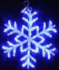 Снежинка RL LED 40см, 54л, акрил., синяя, 220В, IP 54, соед. до 50 шт. RL-SFA40C-B