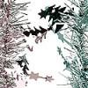 Мишура Еловая Pastel М0911 розовое-серебро 2м(40)