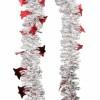 Мишура Колокольчики-2 М1423 красный+серебро 2,7 (40)