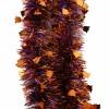 Мишура Зимняя мелодия М0607 золото 1+фиолетовый 2м(25)