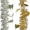 Мишура Колокольчики-2 М1424 красный+золото 2,7 (40)