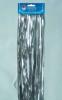 Дождик Д-312 серебро 100*1,5м, двухслойный с европодвесом