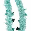 Мишура Колокольчики М1411 пастель бирюзовый штамп 2,7