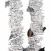Мишура Колокольчики М1401 серебро 2,7 (40)