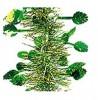 Мишура Лесная М0703 зеленый+ золото 2 * 25