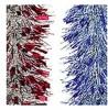 Мишура Морозко-2 М0833 красный+серебро
