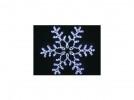 Снежинка ST LED дюралайт 110*110см, 24л., 24м, белый+синий, с контроллером LSRM-7119-LEDW+B