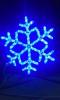 Снежинка ST LED дюралайт 56*56см, 32л., 6м, синий, с контроллером LSRM-7058-LEDB-C