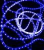 Дюралайт бухта RL 100 м, 13 мм, 220 B, 2-х проводной, синий RL-DL-2WH-100-240-B