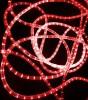 Дюралайт бухта RL 100 м, 13 мм, 220 B, 2-х проводной, красный RL-DL-2WH-100-240-R