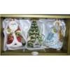 Набор Дед Мороз с белкой+Снегурочка+Елочка 6391