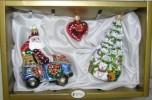 Набор Санта в машине+Сердце+Елочка 6371 76168