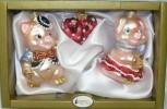 Набор Свинка-девочка+Сердечко+Свинка мальчик 63102