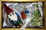 Набор Гном+Зайчик с подарком+елочка 2в. 6367