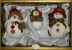 Набор Снеговик-маля+Снеговик с метлой+Снеговичок 6380