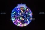 Светлячки в лампочке-15см WN LED 10 л.,мульти,5м,черн.пров.,IP20 m.01.5B.1.15