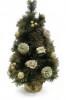 Сосна 30см, 2цв., украш. цветы/шишки/подарки/шары Е 91265