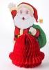 Дед Мороз с елкой складной 25см, картон Е 92217