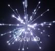 Ежик-трансформер RL LED 45см, 96л, белый, фольга серебр., 220В, RL-TB45CF-W (19)