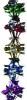 Гирлянда-растяжка 2,5м цветок Д=19см, 12 секций Е 92131