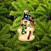 Снеговик с метлой ГФ-254