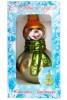 Снеговик с шарфом 11см, в подарочной упаковке ФУ-23