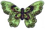 Бабочка 10,5см*16см, 5цв. Е 92187