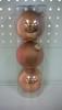 Набор шаров Д=8,5см*3шт., бронза ТН85008