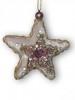 Звезда розовая 13см 103024
