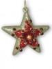 Звезда красная 12см 103192
