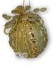Украшение Кружево золотое 14см, 4 в. 103543