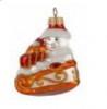 Снеговик на санях 6см, б/упак. Ф-285
