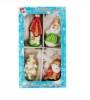 Набор фигурок С Новым Годом 4шт., в подарочной упаковке НФ-98