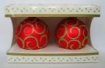 Набор шаров Д=8,5см*2шт. Снежная королева НТ-85-101